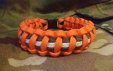 MFO Multi National Force & Observers Medal Ribbon Handmade 550 Parcord Bracelet