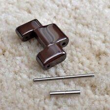 Braune Keramik Link passt Emporio Armani AR1446 Uhr Ersatz Armband/Bracelet/Band