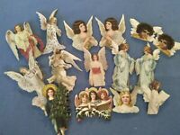 Anna Griffin Angelic Stickers Christmas Holiday Card Making Set of 15 Angels