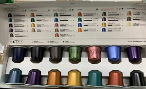 5 X Nespresso Pods Assorted Mixed 14 Pods In A Box In Date
