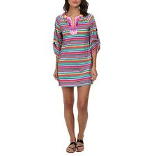 Nanette Lepore Women's Flora Fiesta Tunic Cover up XS