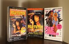 Pulp Fiction and True Romance Special Collectors Edition VHS Box Set