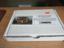 HO Scale KANAMODEL Canadian Pacific Section House Kit #1005