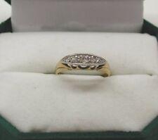 Antique 18ct Gold And Platinum Five Stone Diamond Ring