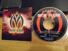 RARE PROMO ONLY Metal Is CD ROM disc MOTORHEAD Halford COC Apollyon Sun Entombed