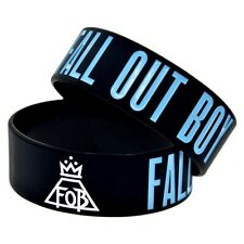 Fall Out Boy 25mm Silicon Rubber Wristband