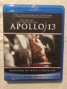 Apollo 13 (Blu-ray, 2010) **Tom Hanks** **Out of Print** **OOP** **NASA**