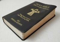 Holy Bible TBN Parallel Special Edition KJV / Living Bible Signed by Paul / Jan