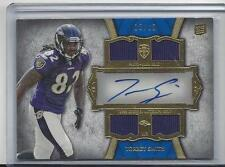 TORREY SMITH 2011 TOPPS SUPREME QUAD ROOKIE JERSEY AUTO RC #D 10/10