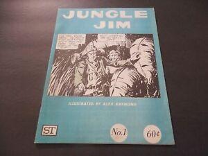 Jungle Jim #1 Aug 1972 Bronze Age King  B&W Mag Comic Alex Raymond       ID:7433