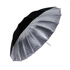 """PHOTTIX® Ombrello  Professionale Para-Pro 101cm 40"""" Argento/Nero Riflettente"""