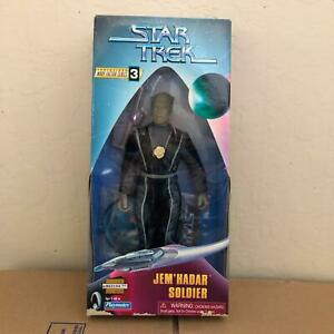 "Star Trek Warp Factor Series 3 Jem' Hadar Soldier 9"" Action Figure Playmates L31"
