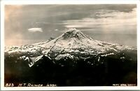 Vintage DOPS 1930s Real Photo RPPC Mount Rainier Washington Pacific Surveys