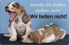 BASSET GRIFFON VENDEEN - A4 Metall Warnschild Hundeschild SCHILD - BGV 04 T48