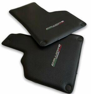 Floor Mats For Lamborghini Gallardo Carbon Fiber Tailored Carpets AutoWin Brand