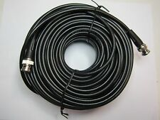RG58 Coaxial Cable BNC Male to BNC Male, 100 ft.
