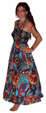 Boho Sleeveless 100% Cotton Dresses for Women