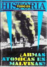 FALKLAND ISLANDS MALVINAS WAR Special Todo es Historia Magazine Argentina 1997