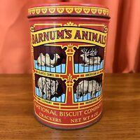 Nabisco Barnum's Animal Crackers Vintage 1974 Reproduction Storage Tin (EMPTY)