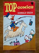 1967 Top Comics Walt Disney Donald Duck Comic Book Number 2 Used Condition