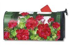 Magnet Works Window Box Geraniums Original Magnetic Mailbox Wrap Cover