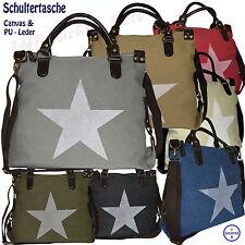 Markenlose Damentaschen aus Leder mit Innentasche (n)