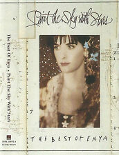 ENYA PAINT THE SKY WITH STARS THE BEST OF ENYA CASSETTE ALBUM AMBIENT NEW AGE