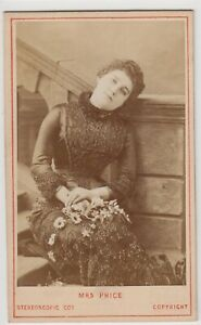 Stage CDV-Emma Ryder (Mrs. Edward Price), actress and singer