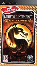 PSP Mortal Kombat Unchained Essential Nuevo Precintado Pal España