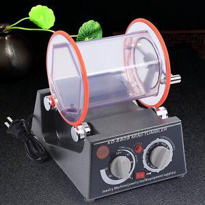 Jewelry Finisher Poliermaschine Kugelmühle Trowalisiermaschine Poliertrommel DHL