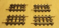 4 x Trix H0 703 / 4703 Rails Voie droite Houle en carton bon