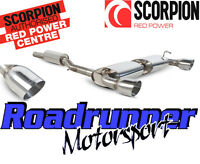 "Scorpion Golf R32 MK4 Exhaust System Cat Back 70mm Resonated 4"" Tails SVW040"
