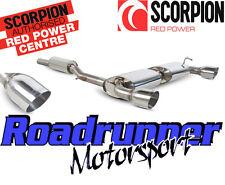 """Scorpion Golf R32 MK4 Système D'échappement Cat Back 70 mm A résonné 4"""" queues SVW040"""