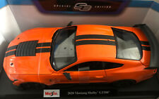 Ford Mustang Shelby GT500 - Orange - Diecast Model Car Maisto 1:18 Scale QUALITY