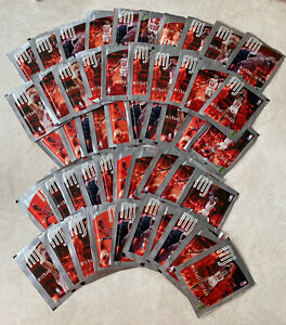 1998 Upper Deck Stickers Michael Jordan - Lot De 64 Paquets De 6 Cartes Chacun