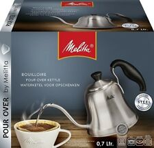 MELITTA POUR OVER GOOSE NECK STAINLESS STEEL KETTLE 0.7L PERFECT COFFEE  6761026