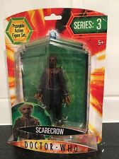 Doctor Who Series 3 Scarecrow Grey Tunic Action Figure. Hard To Find.