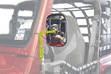 Gecko Green A-Pillar Mounted Mirror Pair for Jeep Wrangler Tj 97-06 Steinjager