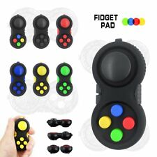 Fidget Pad Fidget Toy Cube Children Desk Toy Adults Stress Relief ADHD Gift UK