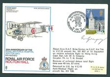 GB 1972 RAF Vickers Vernon cover with AUTOGRAPH