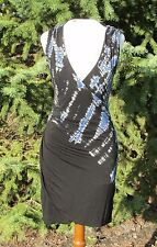 SALE!! NWT $180 Gypsy 05 Draped Bamboo Mini Dress (S) Made in Hollywood