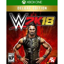 WWE 2K18 DELUXE EDITION (XBOX ONE)- BRAND NEW/SEALED - FREE SHIPPING!
