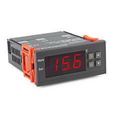 AC 90-250V Thermostat Regulator Temperature Controller w/ Sensor for Water Tank