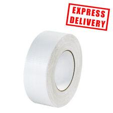 12 x White 50mm x 50m Gaffa Gaffer Cloth Duck Duct Tape HEAVY DUTY + 24 HOUR DEL