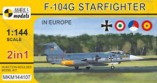 Mark I Models 1/144 Lockheed F-104G Starfighter 'in Europe' (2 in 1) # 144107