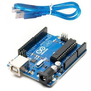 1 x Arduino Uno A000066 Board R3, Microcontroller Board ATmega328 Electronics