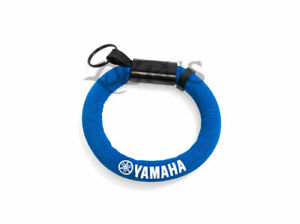 Genuine Yamaha 2021 Racing Blue Floating Keyring