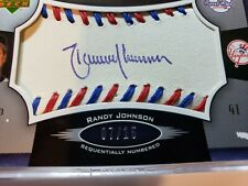 Randy Johnson - 2005 Sweet Spot Signatures - red-blue stitch / blue ink - #07/15