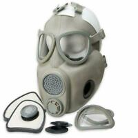 M10 Gas Mask Czech Military Surplus With Sealed NBC Filters Respirator Unused!