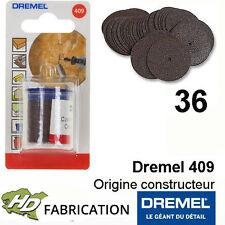 Dremel 409 disque à tronçonner  24 mm Lot de 36 - 2615040932